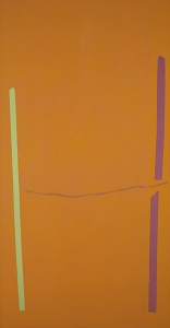 Theodoros Stamos, <i>Infinity Field-Knossos</i>, 1973-74, Acrylic on canvas, 90 x 48 in (228.60 x 121.92 cm)
