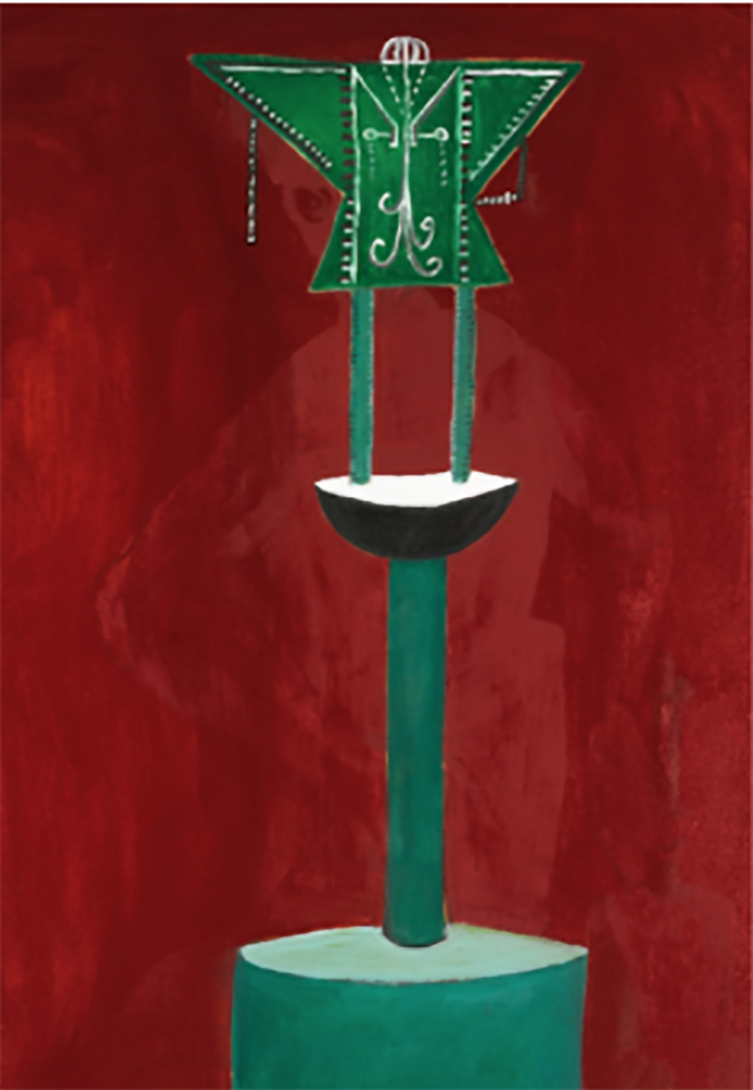 George Condo, <i>Untitled</i>, 1983, Oil on canvas, 68 x 48 in (172.72 x 121.92 cm)