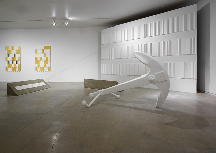 Anton Ginzburg, <i>Walking the Sea</i>, 2014, installation view, Blaffer Art Museum