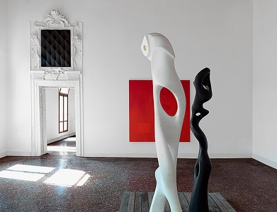 Anton Ginzburg, <i>At the Back of the North Wind</i>, 2011, installation view, Palazzo Bollani, 54th Venice Biennale