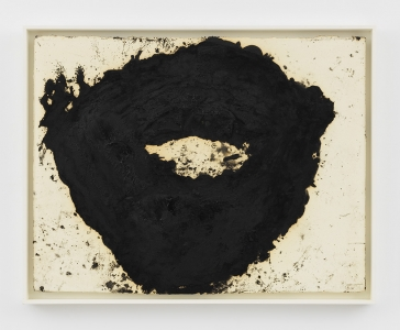 Richard Serra, <i>L-1</i>, 2000, Paintstick on paper, 30 3/8 x 39 7/8 in (77.15 x 101.28 cm)