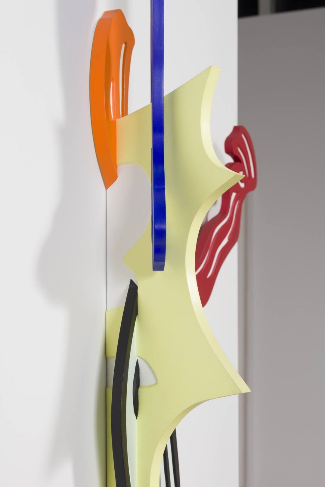 Roy Lichtenstein, <i>Brushstroke II</i>, 1986, Hand painted cherry wood sculpture, 64h x 34w x 8d in (162.56h x 86.36w x 20.32d cm), #9 out of 10