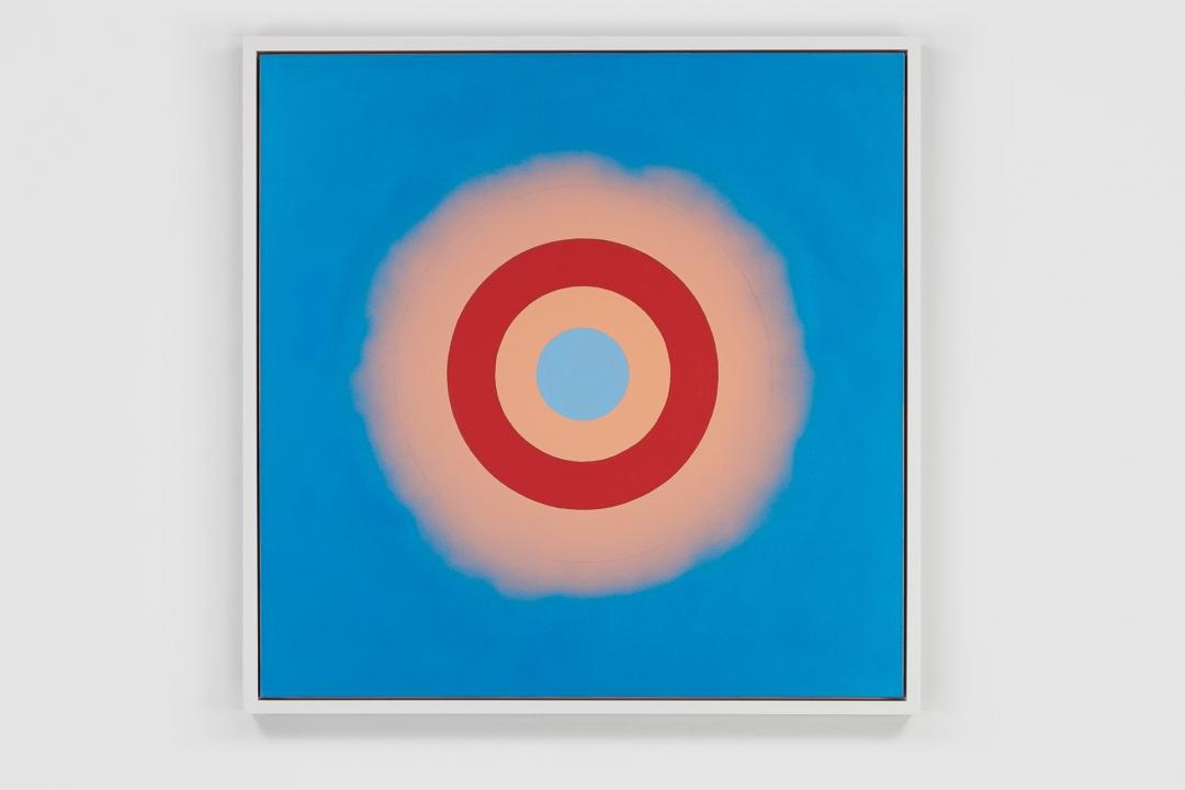 Kenneth Noland, <i>Mysteries: Wild Heart</i>, 2000, acrylic on canvas, 48 x 48 in. (121.9 x 121.9 cm)