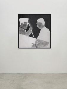 Boedi Widjaja, <i>等著你回來 (Waiting for you)</i>, 2016, Graphite on paper, 60 x 57 in. (154 x 145 cm)