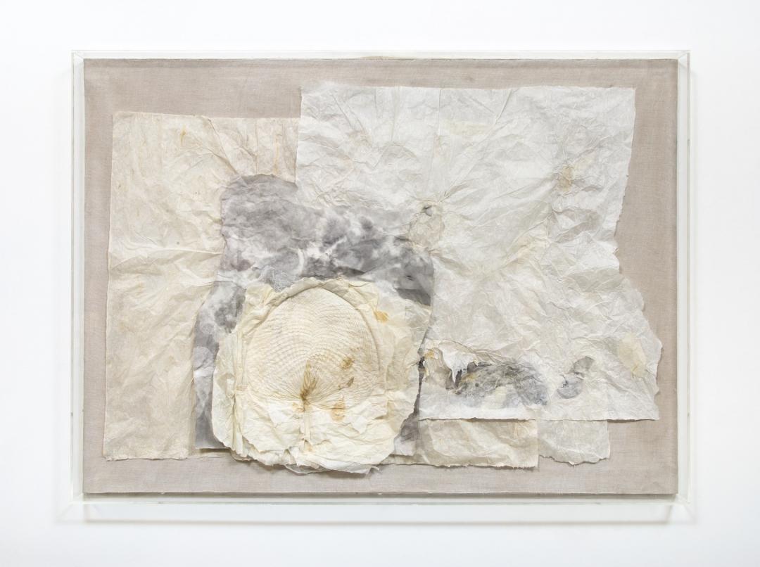 Lin Yan, <i>Breeze (微风), 2014 - 2019</i>, , ink and Xuan paper, 38 x 52 x 3 in (framed), 83.8 x 121.9 x 25.4 cm