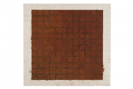 Richard Fleischner, <i>Untitled Gouache</i>, 2018, gouache on paper, 30 x 31 1/2 inches (76 x 80 cm)