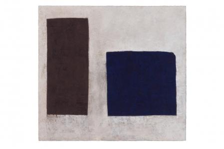 Richard Fleischner, <i>Untitled Gouache</i>, 2018, gouache on paper, 20 3/8 x 22 1/4 inches (51.8 x 56.6 cm)