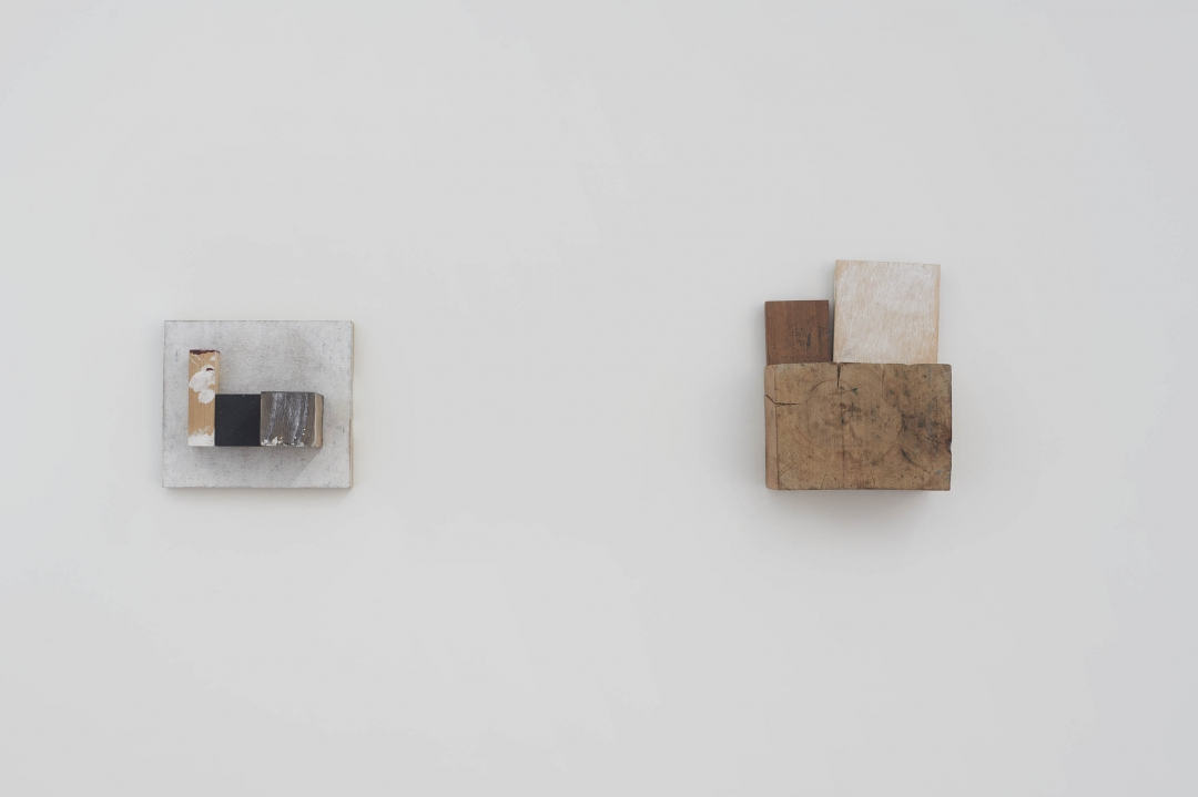 divider - installation view - wall constructions