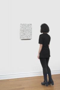 Yayoi Kusama, <i>Nets 45</i>, 1998, Acrylic on canvas, 33.30h x 24.10w cm / 13.11h x 9.49w in