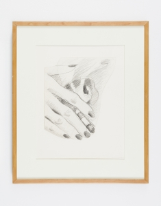 Tom Wesselmann, <i>Technical Drawing for Smoker</i>, 1973, Pencil on Bristol board, 9 3/4 x 8 1/2 inches (24.8 x 21.6 cm)