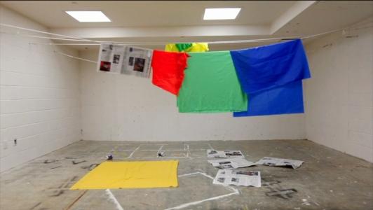 Anton Ginzburg, <i>Color and Line</i>, 2013, digital video with sound, 00:09:15