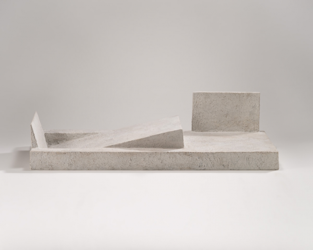 Richard Fleischner, <i>Untitled</i>, 2011-12, cast bronze, 7 x 27 7/8 x 10 5/8 inches (18 x 71 x 27 cm)