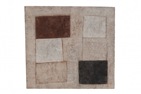 Richard Fleischner, <i>Untitled</i>, 2018, gouache on paper, 3 1/4 x 14 7/8 inches (33.7 x 37.7 cm)