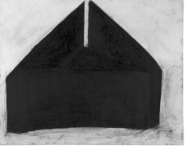Richard Fleischner, <i>Untitled</i>, 1980 - 81, graphite on paper, 22 3/4 x 28 5/8 in, 57.8 x 72.7 cm