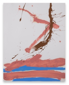 Robert Motherwell, <i>Beside the Sea No. 41</i>, 1966, oil and acrylic on paper, 29 x 22 7/8 in (73.7 x 58.1 cm)