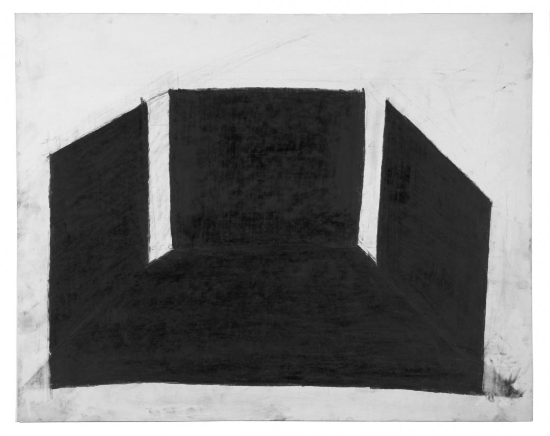Richard Fleischner, <i>Untitled</i>, 1980-1981, graphite on paper, 22 3/4 x 28 5/8 in (57.8 x 72.7 cm)