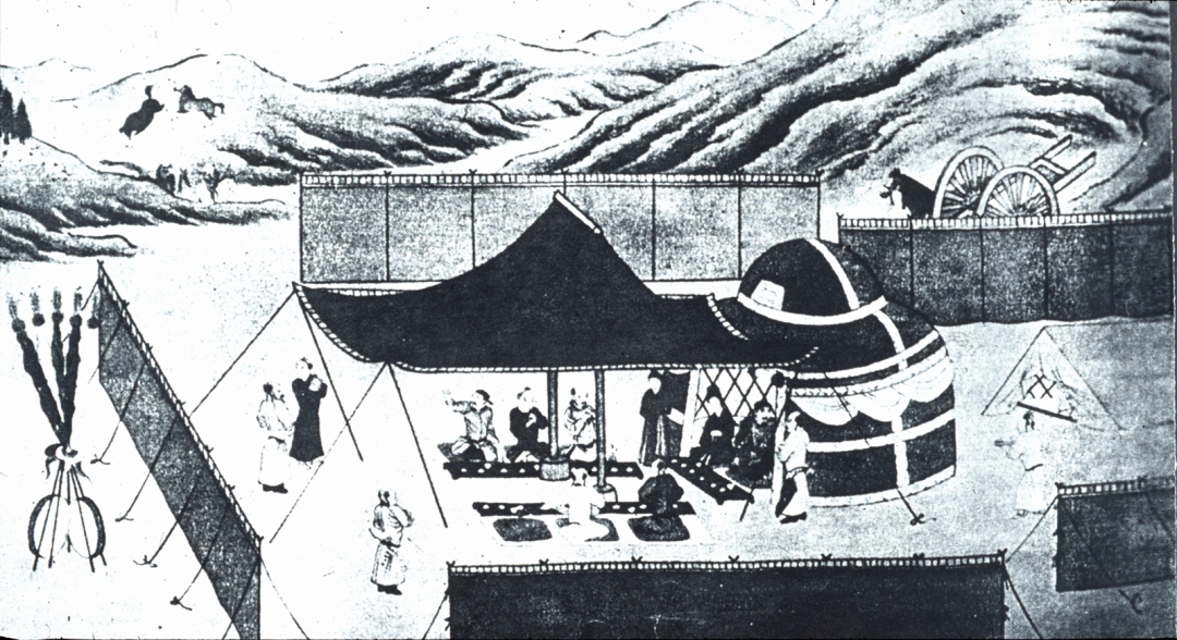 Question 1: Khitan camp image