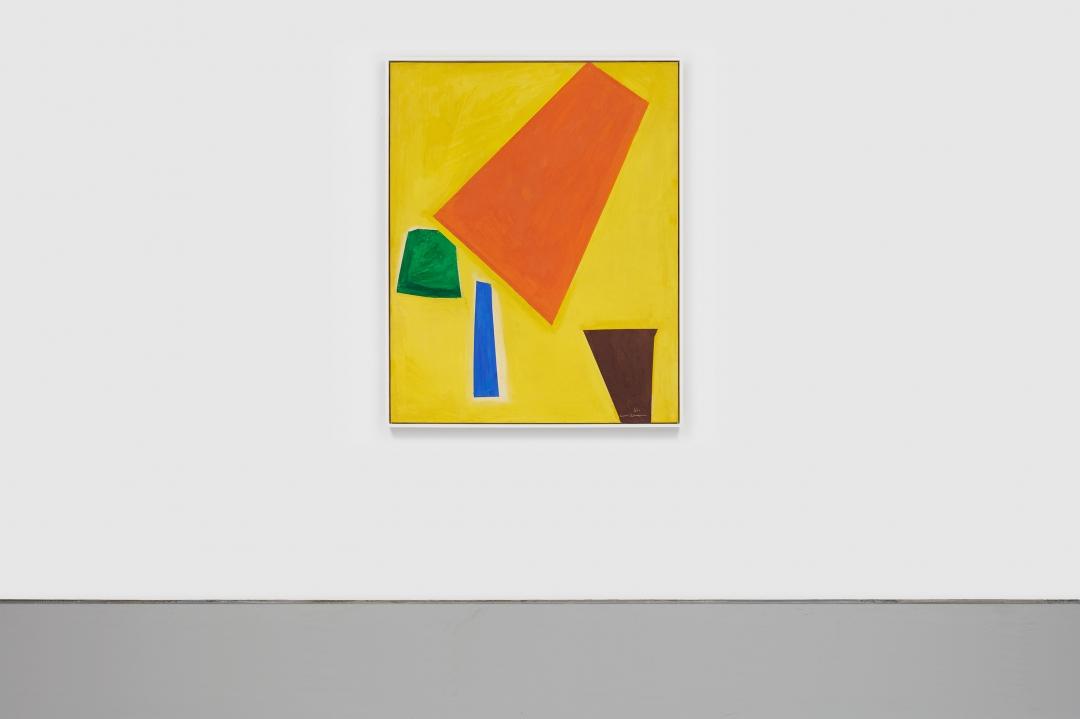 Hans Hofmann, <i>Composition #2</i>, 1951, oil on canvas, 60 x 48 1/4 in. (152.4 x 12.62 cm)