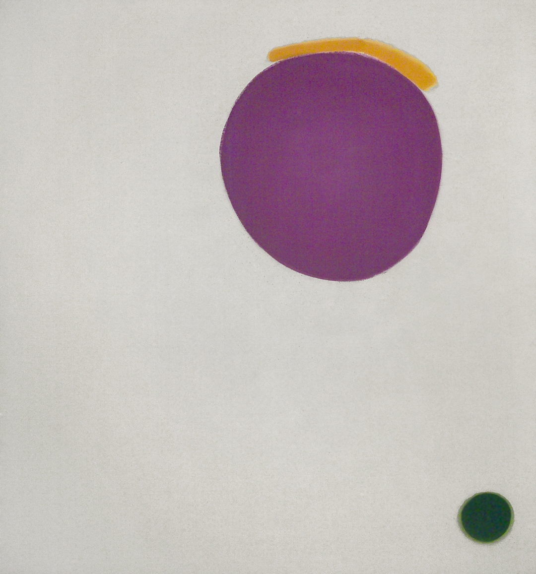 Jules Olitski, <i>Hot Slash Yellow</i>, 1964, acrylic on canvas, 72 x 66 in. [SOLD]