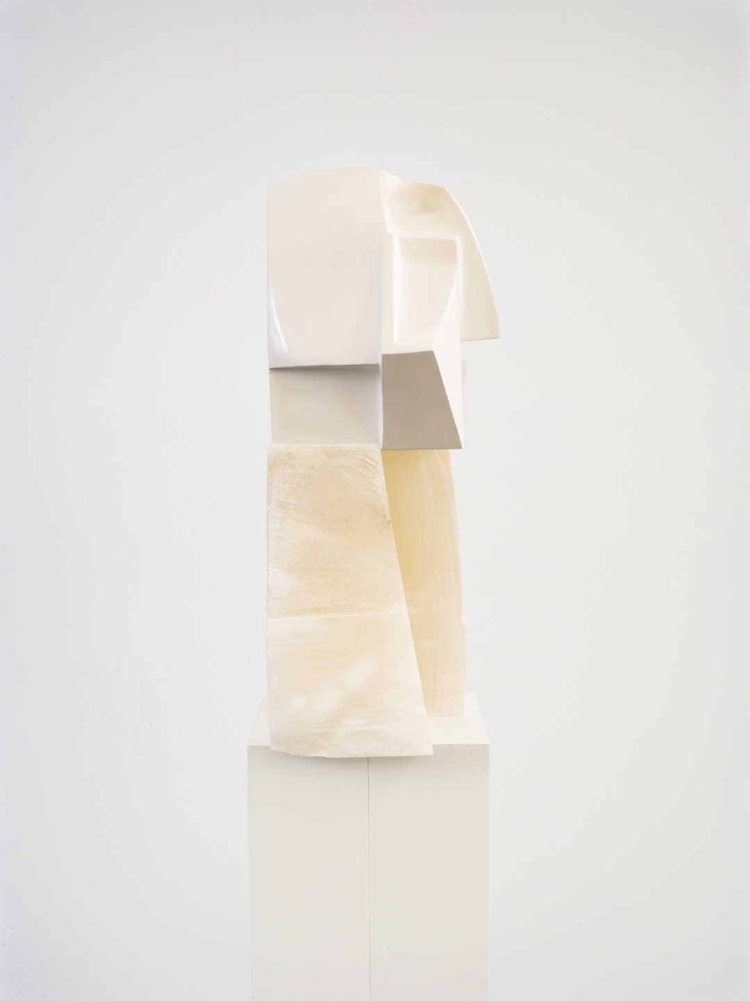 Christina Kruse, <i>The Directionalist</i>, 2021, plaster, wax, alabaster, 12 x 21 x 9 in. (30.5 x 53.3 x 22.9 cm)., 2 out of 3 editions available