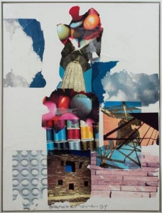 Robert Rauschenberg, <i>Rap and Swell</i>, 1994, wax and transfer on canvas, 49 5/6 x 37 5/16 in. (125.3 x 94.8 cm) (not available)