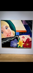 Tom Wesselmann, <i>Bedroom Painting no. 42</i>, 1978, oil on canvas, 77 x 88 in. (195.6 x 223.5 cm)