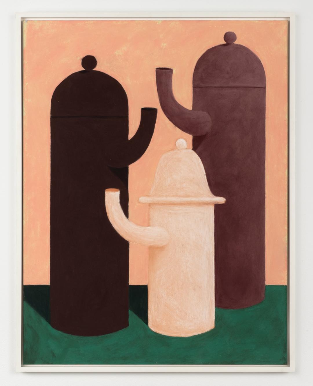 Nicolas Party, <i>Still life</i>, 2014, pastel on paper, 25 1/2 x 19 1/2 in (64.8 x 49.5 cm)