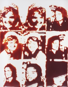 Vik Muniz, <i>Jackie (from Pictures of Chocolate)</i>, 2001, Cibachrome print, 62 1/4 x 49 1/4 in. (158 x 125 cm), Numbered 2 of 3 artist's proof